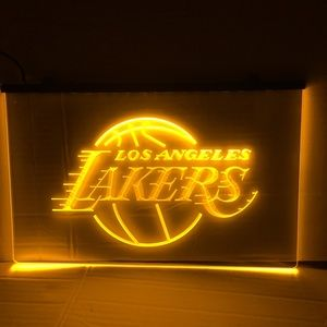 Los Angeles Lakers LED sign Lakers light neon sign